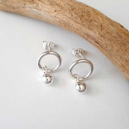Molten Dropper Earrings