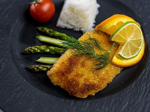 Fischfilets; Fische aus dem Zürichsee, paniert oder nature