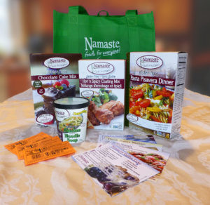 Namaste Foods Giveaway Tote | Gluten Free