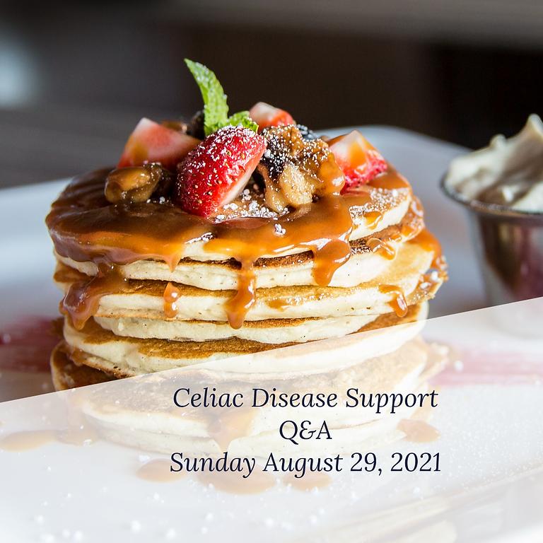 Celiac Support Group Q&A