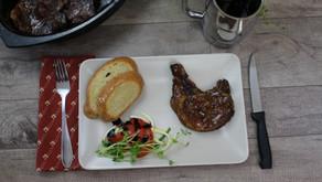 Rootbeer Braised Porkchops
