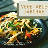 Vegetable Japchae gluten free sweet pota