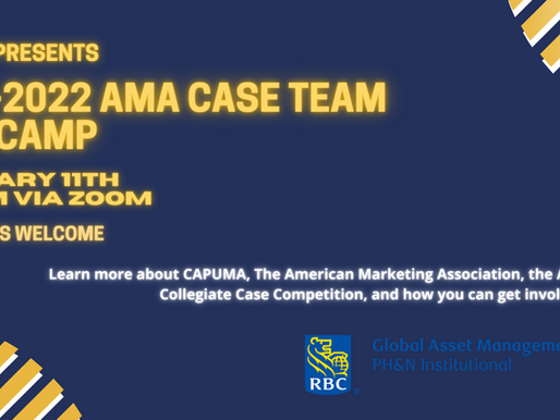 CAPUMA PRESENTS: 2021-2022 AMA BOOTCAMP