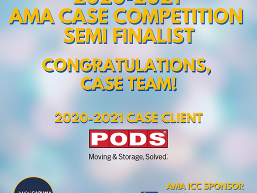 2020-2021 AMA CASE COMPETITION RESULTS