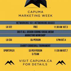 CAPUMA Marketing Week