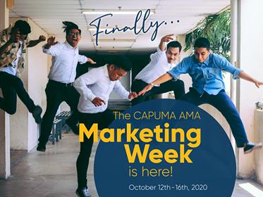 CAPUMA Presents: Virtual Marketing Week