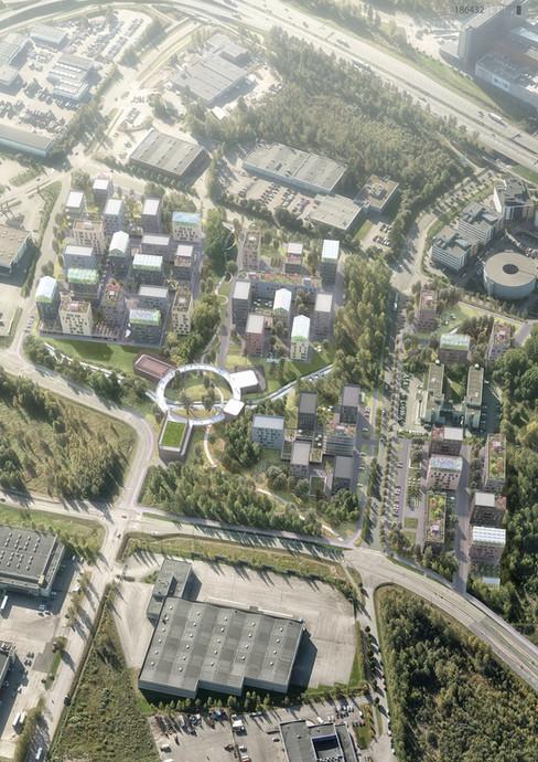 Aviapolis Urban Blocks, Helsinki, earchstudio