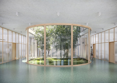 Berliner Wasser Betriebe – Betriebsgebäu, Lehrecke Witschurke Architekten