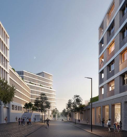 Friedenauer Höhe, Berlin, O&O BAUKUNST