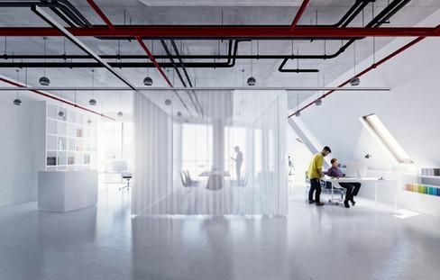 IT office in Kharkiv, earchstudio