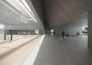 Broc Sport Complex, Broc, Topotek 1
