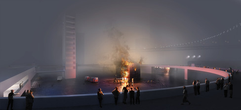 Fire station, earchstudio