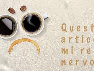Il caffè ti rende nervoso?