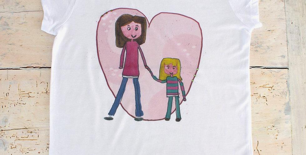 L'altra metà del cuore - t-shirt donna