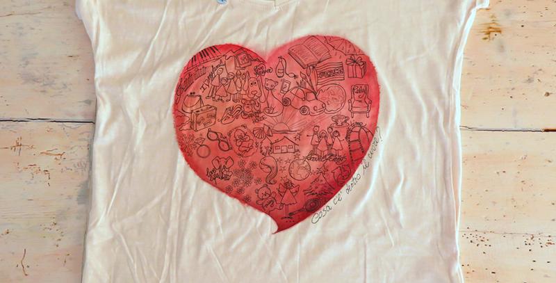 Cosa c'è dentro il cuore - t-shirt donna