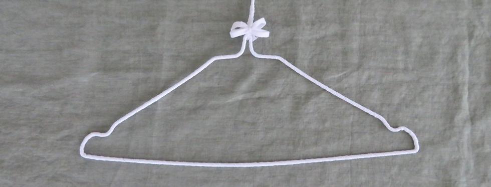 gruccia in misto cotone riciclato