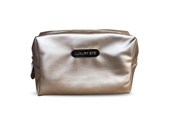 COSMETIC BAG – GOLD