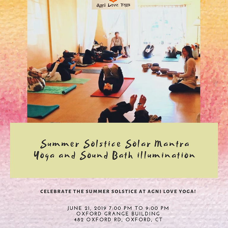 Summer Solstice Solar Manta Yoga and Sound Bath Illumination