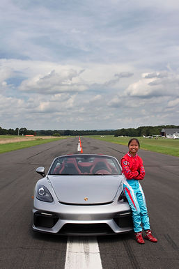Chloe with winning car copy.jpg