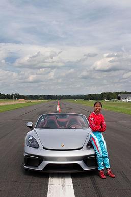 Chloe with winning car copy.jpg
