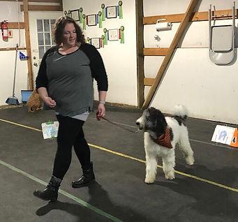 Mojo in puppy class.jpg