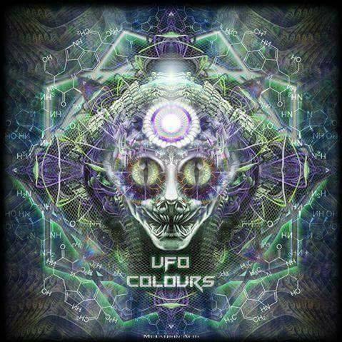 UFO colours 3D