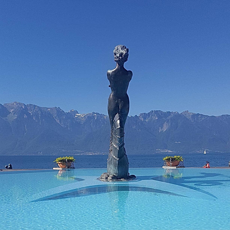 Jardin du Rivage Vevey Suisse Lac Léman