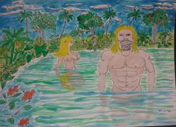 Adam and Eve, Caucasian