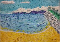 Alma Bay, impressionist stle 15.8.21 b