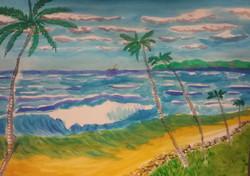 SE Tradewinds on the beach