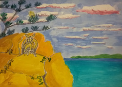 Rock Wallaby & Joey, Magnetic Island