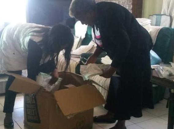 Preparing Donations