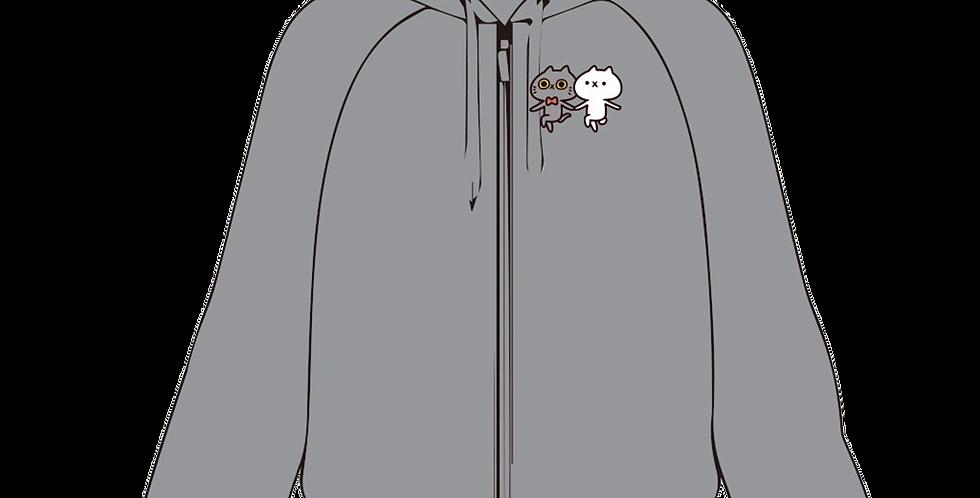 フード付きジャケット(HAPPY)