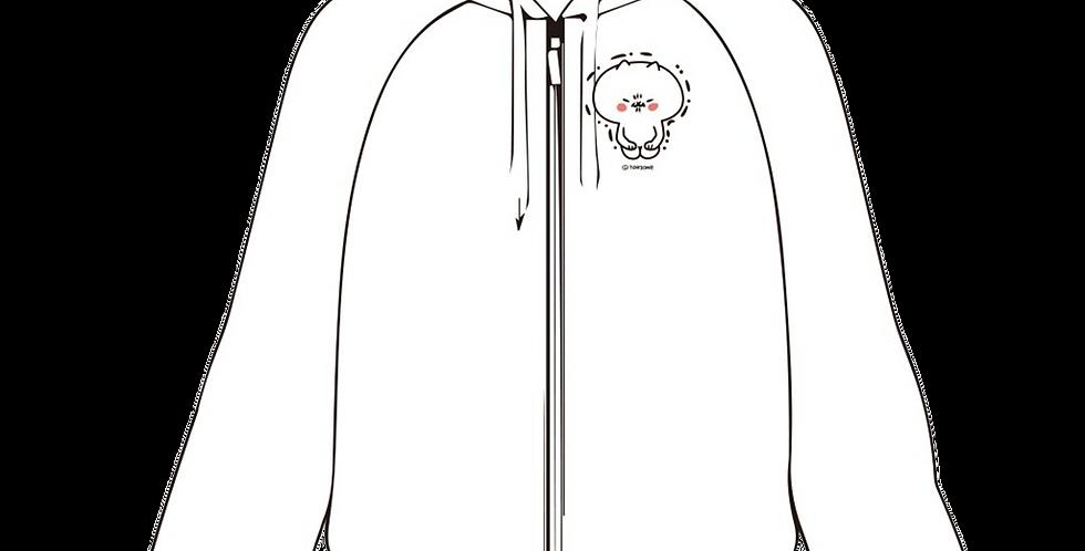 フード付きジャケット(我慢)