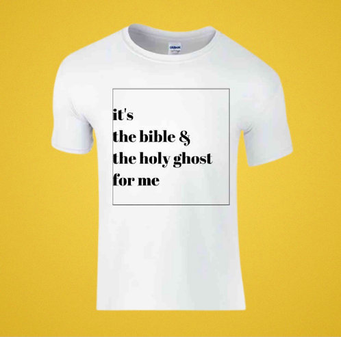 Bible and Holy Ghost