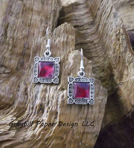 Square Dangle Earring