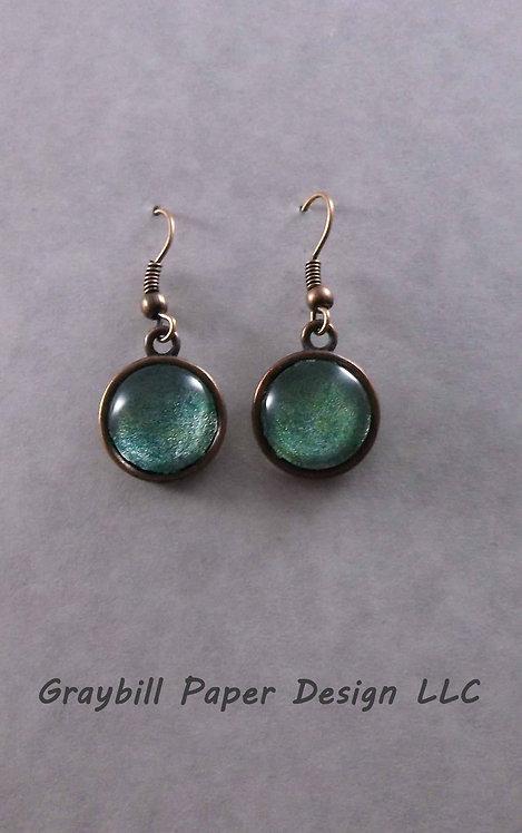 Copper Small Dangle Earring