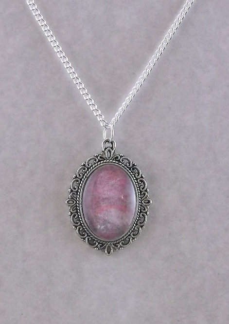 Pink Antique Oval