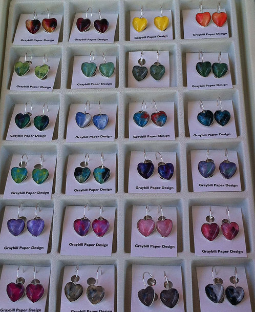 Linda's Heart Earring Sets