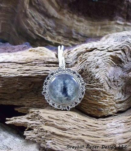 Small Antique Circle Pendant