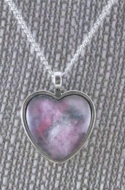 Pink 25mm Heart