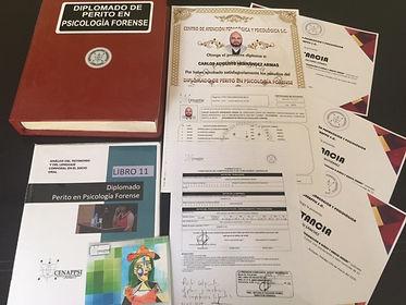 Diplomado psicologia forense entrega 6.j