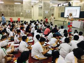 At Bombay Scottish School Powaii