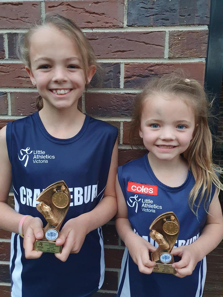 Lexie & Emery received their 2019/2020 Trophies!
