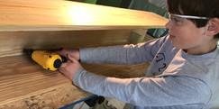 Finn nailing beams
