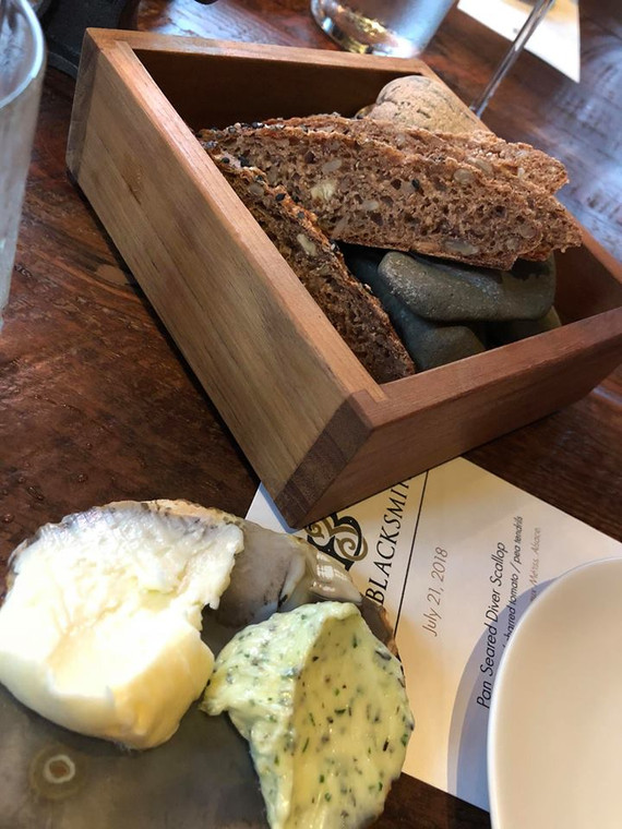 House made bread and butters