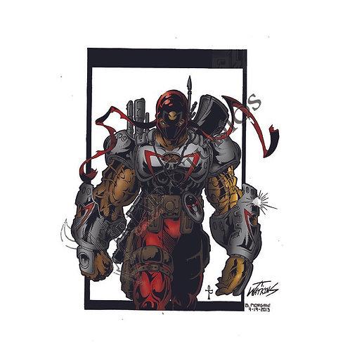 11 X 17 Bloodwave Print