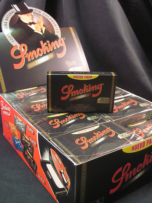 Smoking Deluxe papers 1 1/4 size, 300 pack