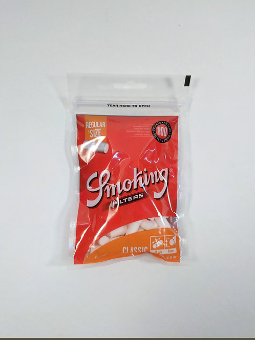 Smoking Classic Rolling Filters, pack of 100