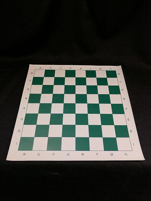 """Small Vinyl Chess Mat, 14"""" x 14"""""""
